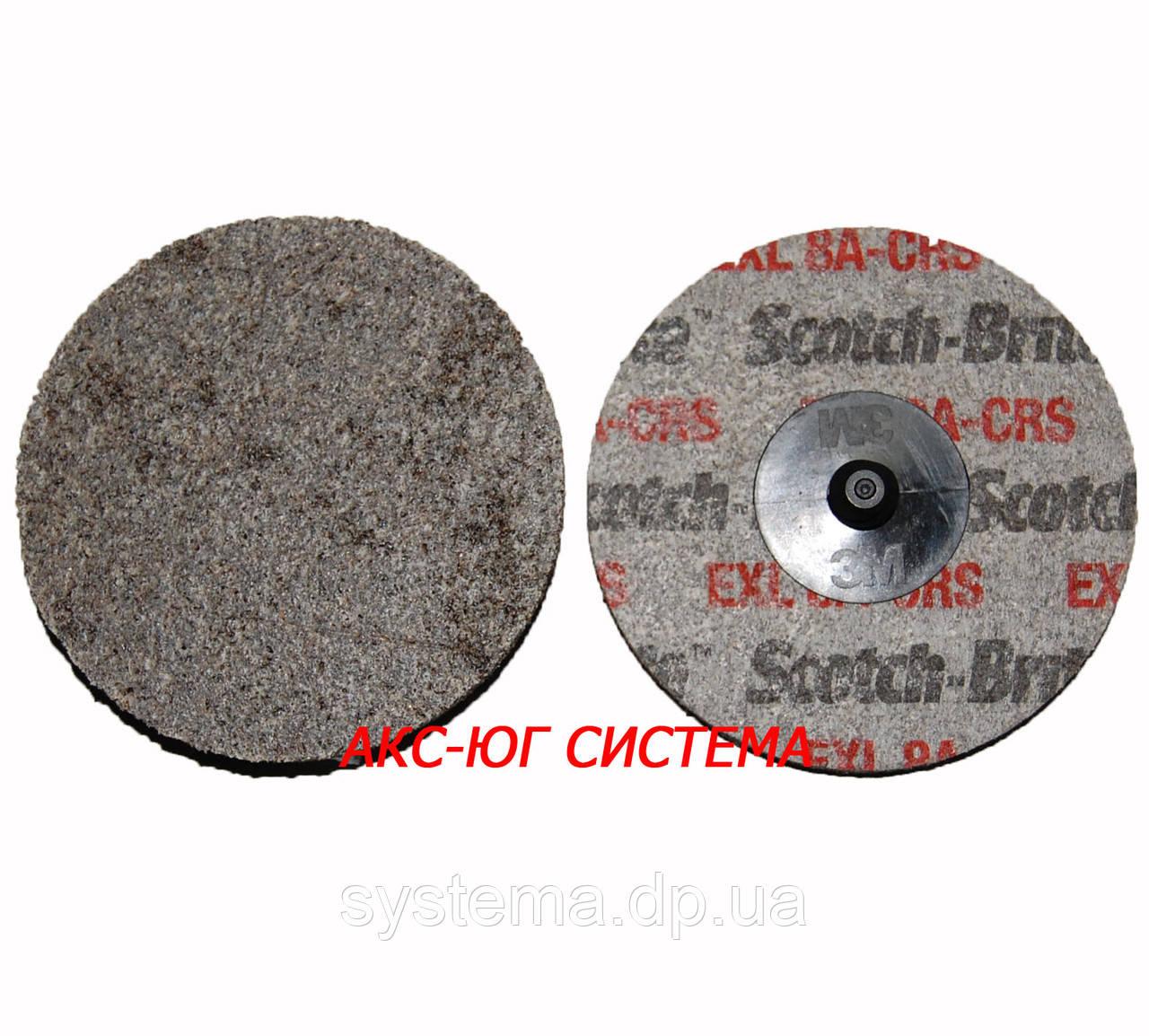 3M™ 17191 Scotch-Brite™ XL-UR 6A MED- Круг прессованный 76 мм с креплением Roloc™, для нерж. стали