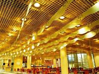 Подвесные потолки для ТЦ