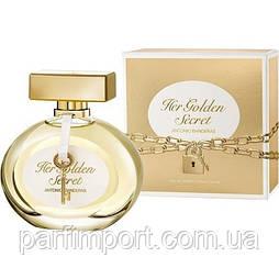 Antonio Banderas Her Golden Secret EDT 80 ml Духи (оригинал подлинник  Испания)