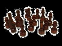 Фигуры шахматные (лакированные, деревянные)