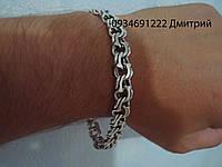 Серебряная цепочка/браслет Арабский бисмарк массивный