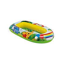 Детская надувная лодка для плавания Intex 58394 «Винни Пух», 119 *79 см