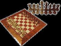 Шахматы подарочные, магнитные. Размер доски 39х39 см