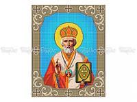 Схема вышивки бисером «Св. Николай Чудотворец» (A3)
