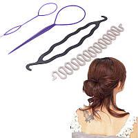Набор заколок для укладки волос, 3 вида