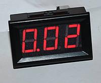 """Амперметр DC 10А;  0,56""""  красный"""