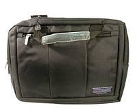 Портфель, рюкзак, сумка для ноутбука текстильная Suoai 923, 15.4'', 38*28*8 см