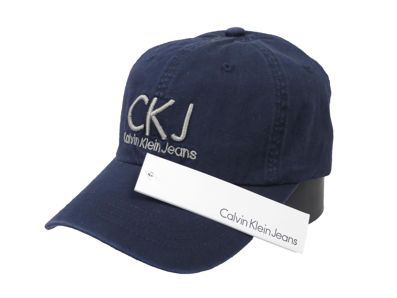 Темно-синяя бейсболка Calvin Klein (реплика)