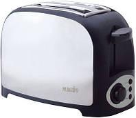 Тостер Magio MG-270, два отделения, функция размораживания, подогрева, съемный поддон для крошек