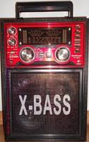 Радиоприемник колонка портативна KN-78 (USB+ аккумулятор), музыкальная колонка портативная радиоприемник