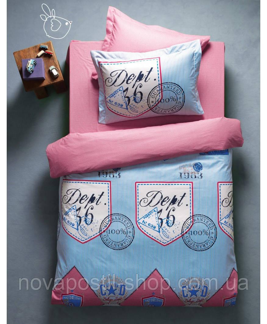 Комплект постельного белья KARACA HOME DEEP голубой