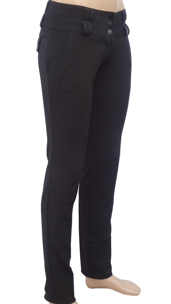 Классические черные брюки (42)