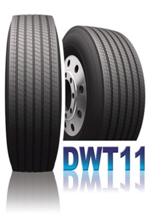 385/65 R22.5 DWT 11 160 К (п+пр) (20сл.) - DAEWOO  Шины грузовые рулевые прицепные