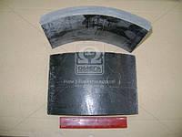 Накладка тормозная КРАЗ задняя (УралАТИ). 255Б-3502105
