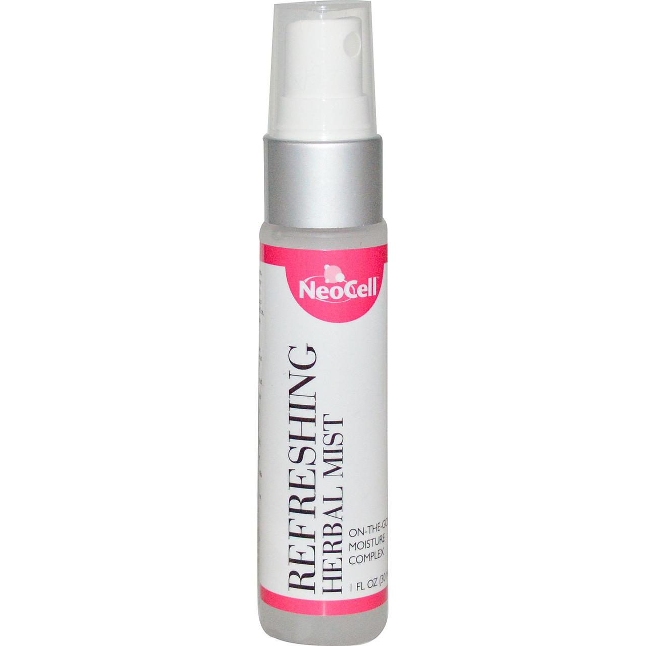 Спрей увлажнитель для лица Neocell с коллагеном, витаминами и травами, 30 мл