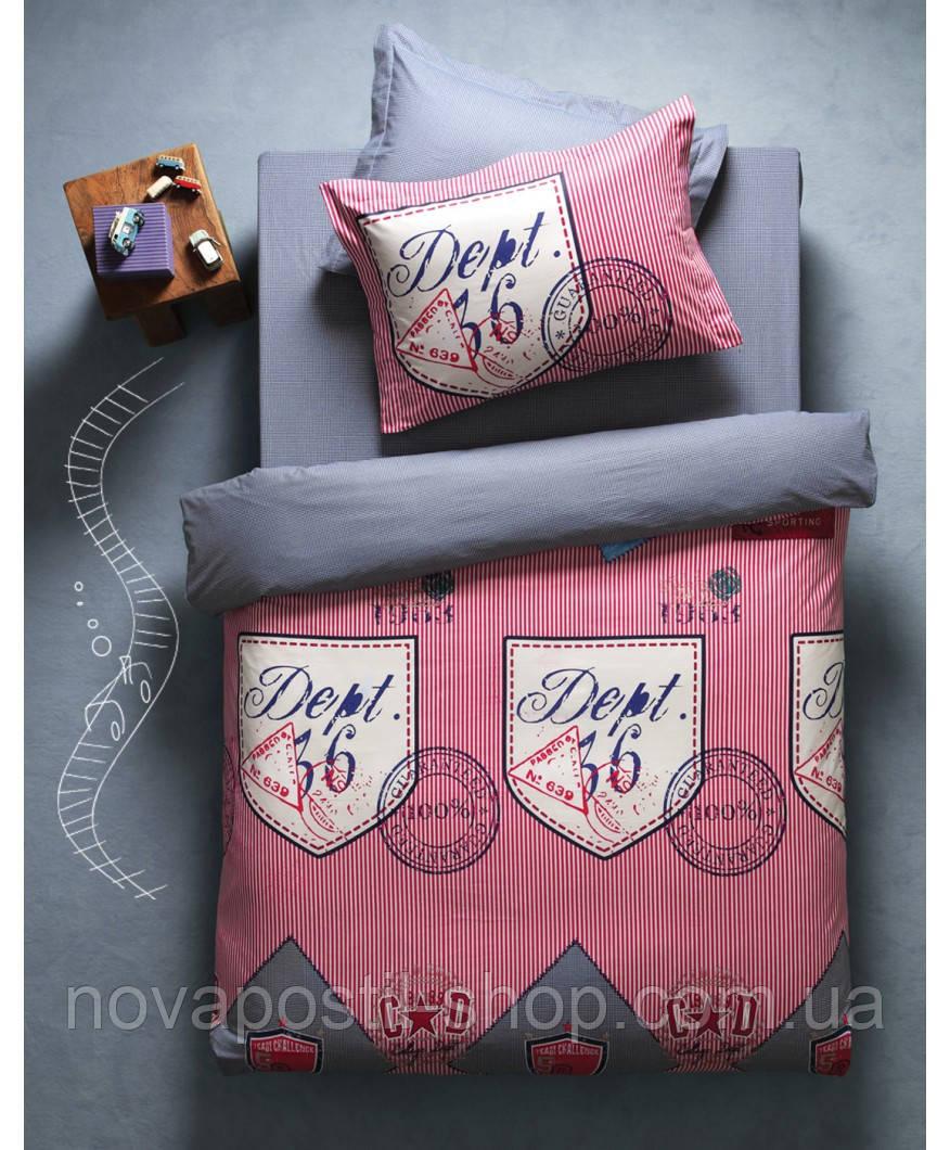 Комплект постельного белья KARACA HOME DEEP бордовый