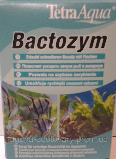 Тетра Бактозим,  кондиционер для стабилизации воды в аквариуме/10 капс. на 1000л.