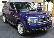 Автостекло на Landrover  Range Rover Sport(Внедорожник)(2005-)