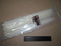 Хомут пластиковый 4.5х300мм. белый 100шт./уп. . DK22-4.5х300WT