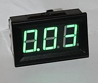 "Амперметр DC 10А;  0,56""  зеленый"