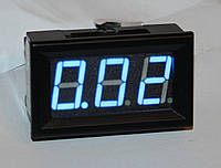 "Амперметр DC 10А;  0,56""  голубой"