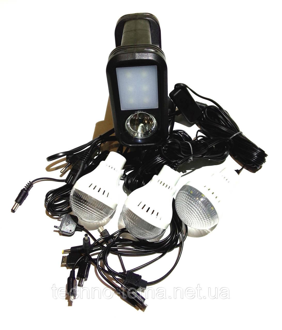 Портативная универсальная солнечная система GDLITE GD-8017Plus