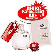 Lacoste L. 12. 12 pour Elle Elegant Хорватия Люкс качество АА++ парфюм Лакоста