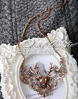 Ожерелье на шею с массивным кулоном