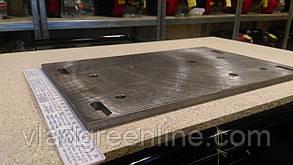 Переходная плита для тяжелого мотоблока под двигатель воздушного охлаждения