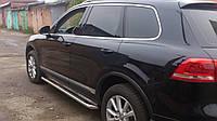 """Бічні пороги """"Premium"""" (майданчик, сходинка) Volkswagen Touareg"""