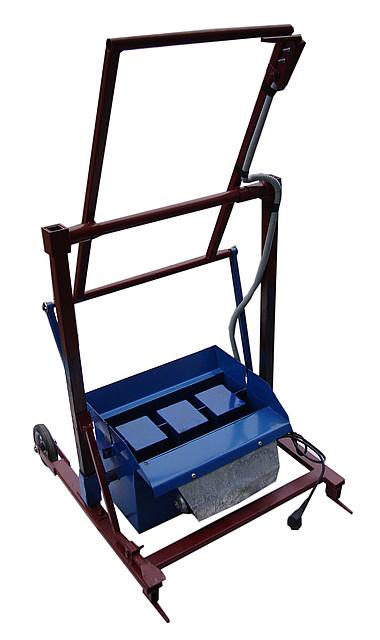 Віброверстат для виробництва шлакоблоків «ВУС-1 стандарт квадратні порожнечі »