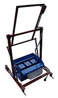 Вибростанок для производства шлакоблоков «ВУС-1 стандарт квадратные пустоты »