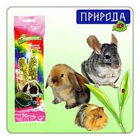 Фиеста витаминизированный корм колосок для грызунов Луговые травы 100гр, минимальный заказ 5 шт