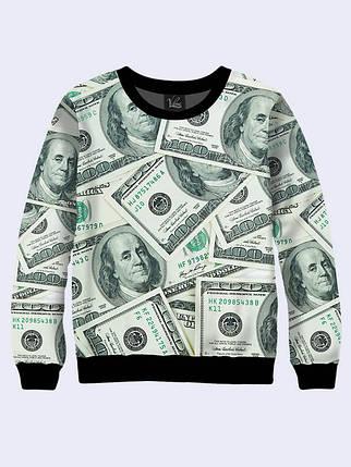 Свитшот Американская Валюта, фото 2