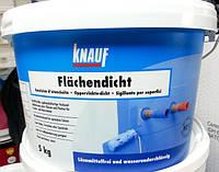 Гидроизоляция обмазочная Кнауф Флехендихт (Knauf Flachendicht) ведро 5 кг., фото 1