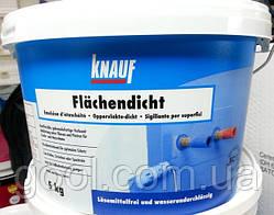Гидроизоляция обмазочная Кнауф Флехендихт (Knauf Flachendicht) ведро 5 кг.
