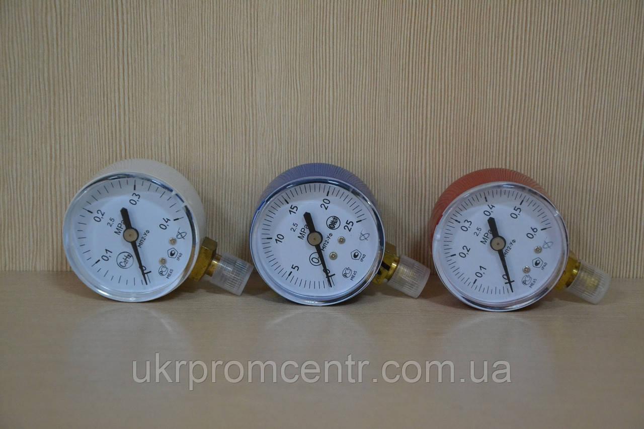 Манометр МП2-Уф  для измерения давления кислорода, ацетилена и газа