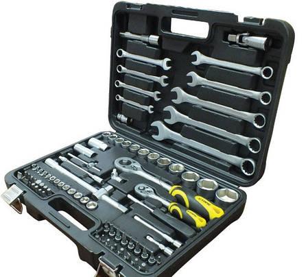 Набор инструментов профессиональный Сталь AT-8212 82 единицы, фото 2