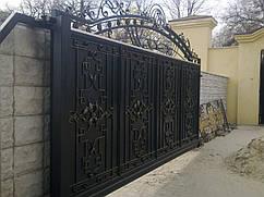 Ворота кованые в Запорожье
