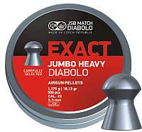 Пули JSB  Exact Jumbo Heavy 500 шт. кал 5.52  1,175 гр