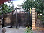 Ворота кованые в Запорожье, фото 3