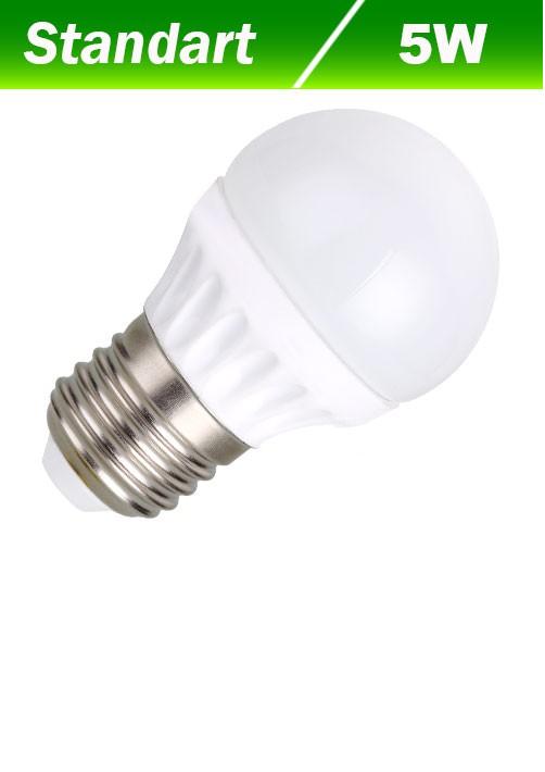 Светодиодная лампа Biom BG-203 G45 5W E27 6200К