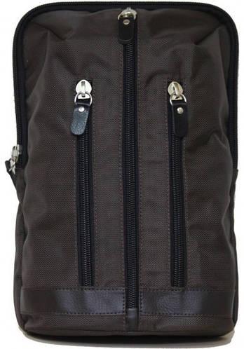Городской креативный рюкзак из текстиля 7 л. VATTO Mt27N2, коричневый