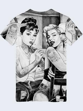 Футболка Хепберн и Монро, фото 2