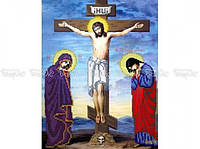 Схема вышивки бисером «Распятие Иисуса Христа» (A3)