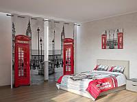 Фотокомплект красные телефонные будки