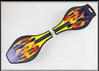 Скейт рипстик Ripstik fire двухколесный с алюминиевой рамой