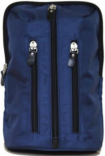 Городской молодежный рюкзак из текстиля 7 л. VATTO Mt27N4, синий