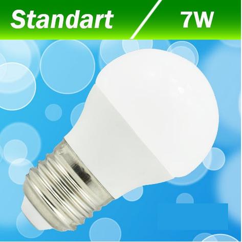 Светодиодная лампа Biom BB-405 G45 7W E27 3000К, фото 2