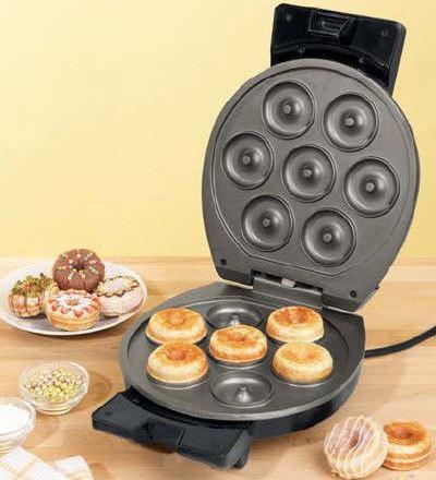 Вафельница для приготовления пончиков, бубликов Donut Maker Bifinett 1122 - OptBaza в Харькове
